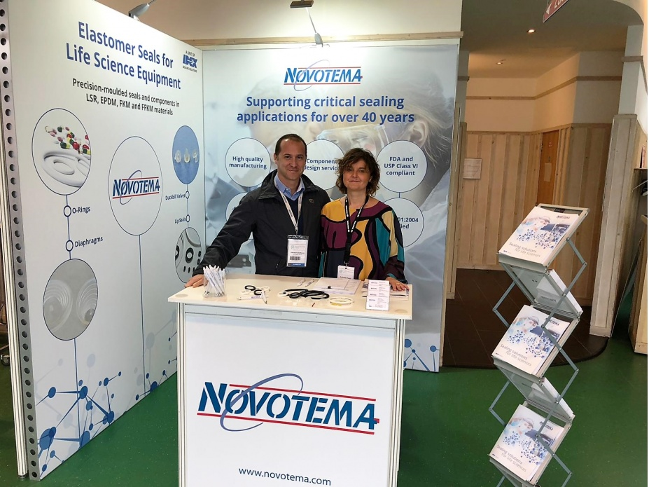 "Novotema als Aussteller auf der Messe ""Medical Technology Ireland 2018"""